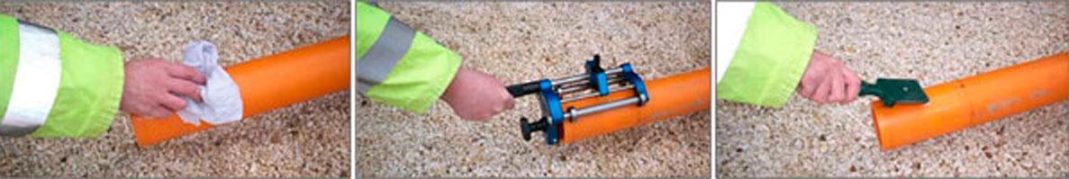 Como se hace una soldadura por Electrofusión en tubos y accesorios de PE 3