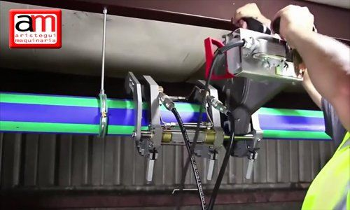 Ventajas de la acrobat 160 para soldar tubería 8