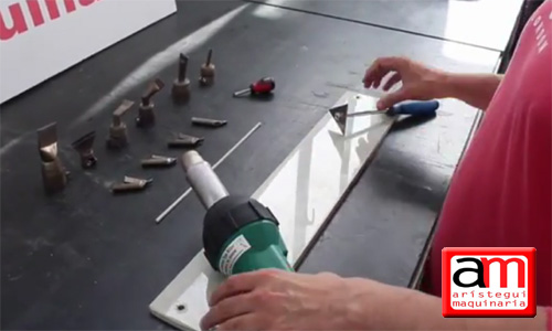 Soldadura manual con varilla de plásticos (vídeo) 8