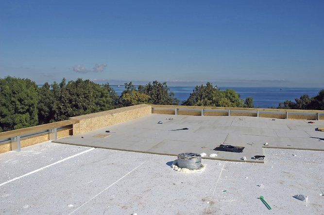 Advice to waterproof roofs and terraces 16