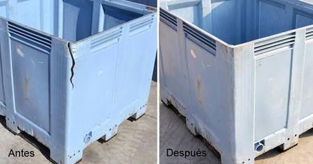 reparacion contenedores plasticos