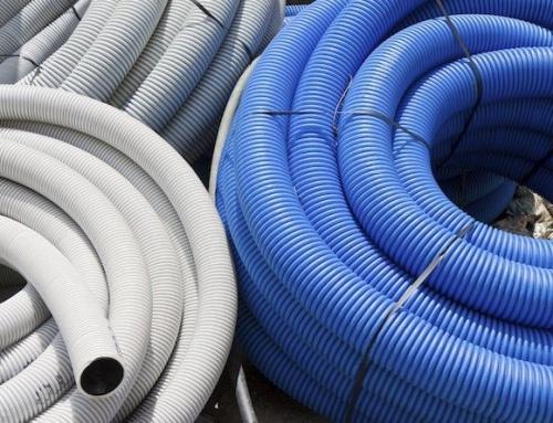 Types d'installations de tuyauterie ondulée en polyéthylène d'haute densité