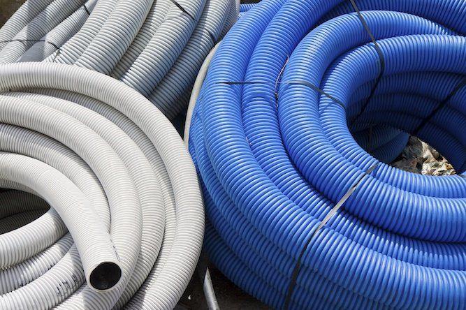Types d'installations de tuyauterie ondulée en polyéthylène d'haute densité 5