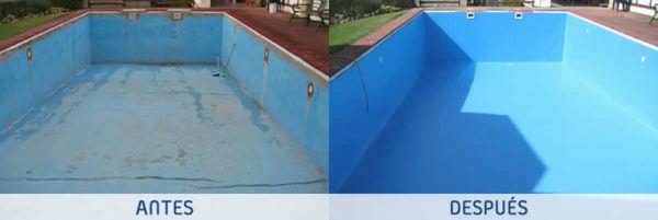 La lámina armada para piscinas