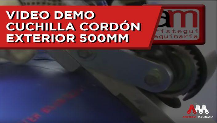 CUCHILLA CORDÓN EXTERIOR 500MM 1