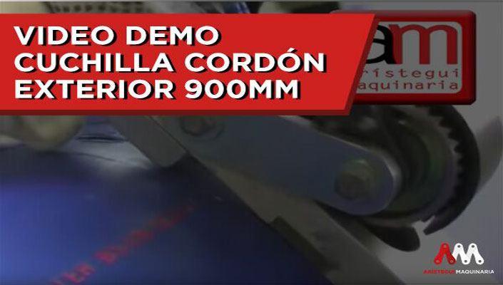 CUCHILLA CORDÓN EXTERIOR 900MM 1