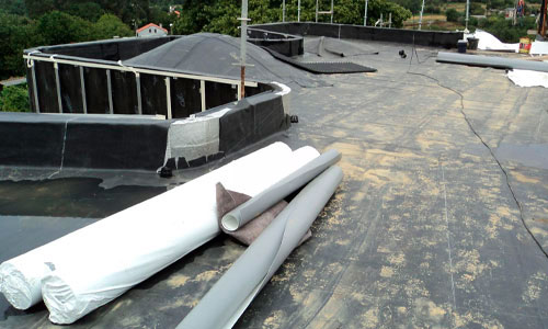 Impermeabilización de cubierta con EPDM paso a paso 1
