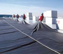 Impermeabilización de cubierta con EPDM paso a paso 3