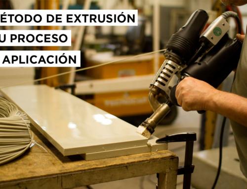 Método de extrusión su proceso y aplicación.