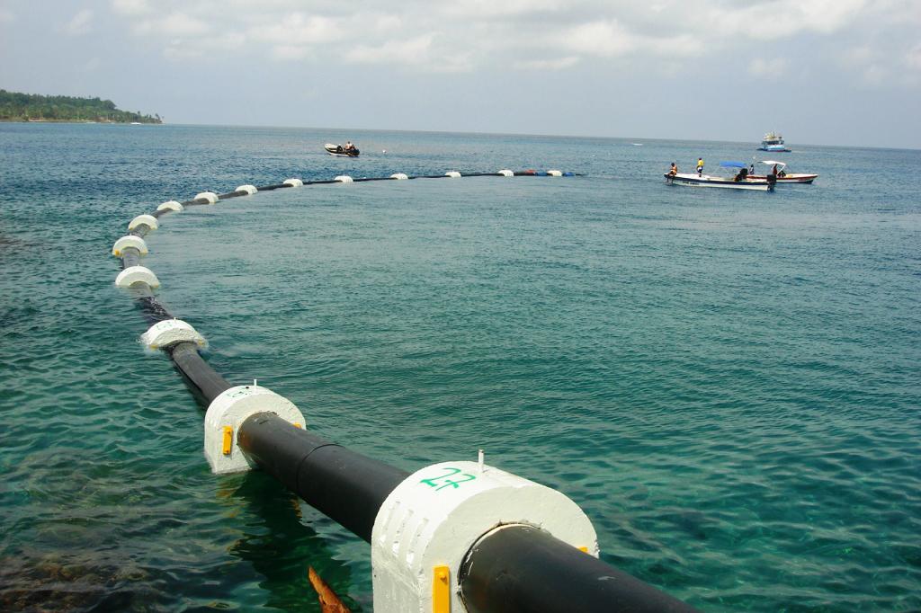 Ventajas y beneficios de los emisarios submarinos con tuberías de polietileno 13