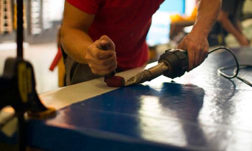 5 Pasos para reparar toldos de PVC con un soldador de aire caliente. 2