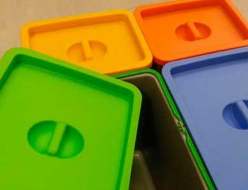 8 pasos para reparar un cubo de plástico con una extrusora