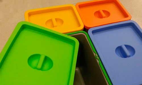 8 pasos para reparar un cubo de plástico con una extrusora 8