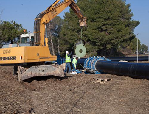 Procedimiento para la instalación de tuberías para abastecimiento, riego y saneamiento