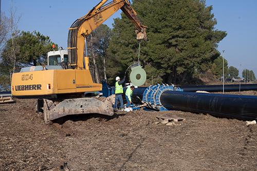 Procedimiento para la instalación de tuberías para abastecimiento, riego y saneamiento 2
