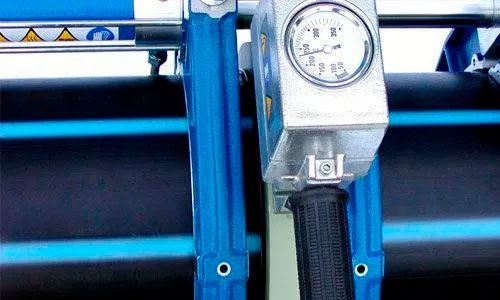 Componentes y descripción de una maquina para soldar a tope 4