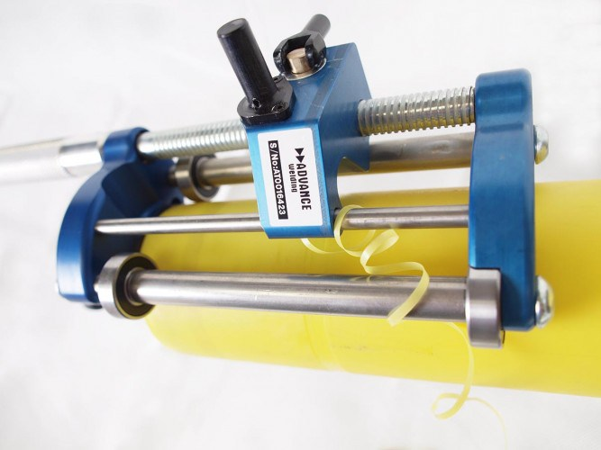 Preparación y raspado de los tubos para la soldadura por electrofusión 1