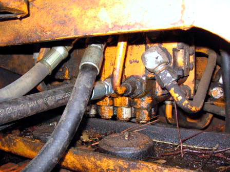 Oxidación del aceite hidráulico 1