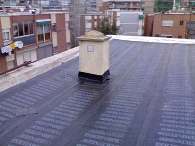 Reparación de láminas de PVC en impermeabilización 2