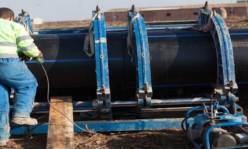 Una guía para trabajar con tuberías de HDPE, ya sea en sistemas de gas, suministro de agua doméstica o de otro tipo. 1