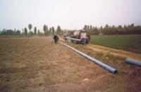 Como rehabilitar canales de riego con tuberías plásticas 1