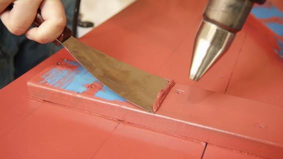 cómo usar una pistola de calor para quitar la pintura