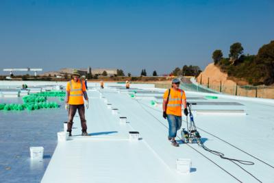 Impermeabilización de terrazas, balsas, etc. 9