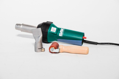 Como soldar plástico con una pistola de aire caliente 3