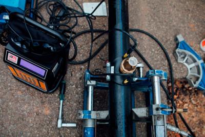 Pasos a seguir para la soldadura con manguitos electrosoldables 2