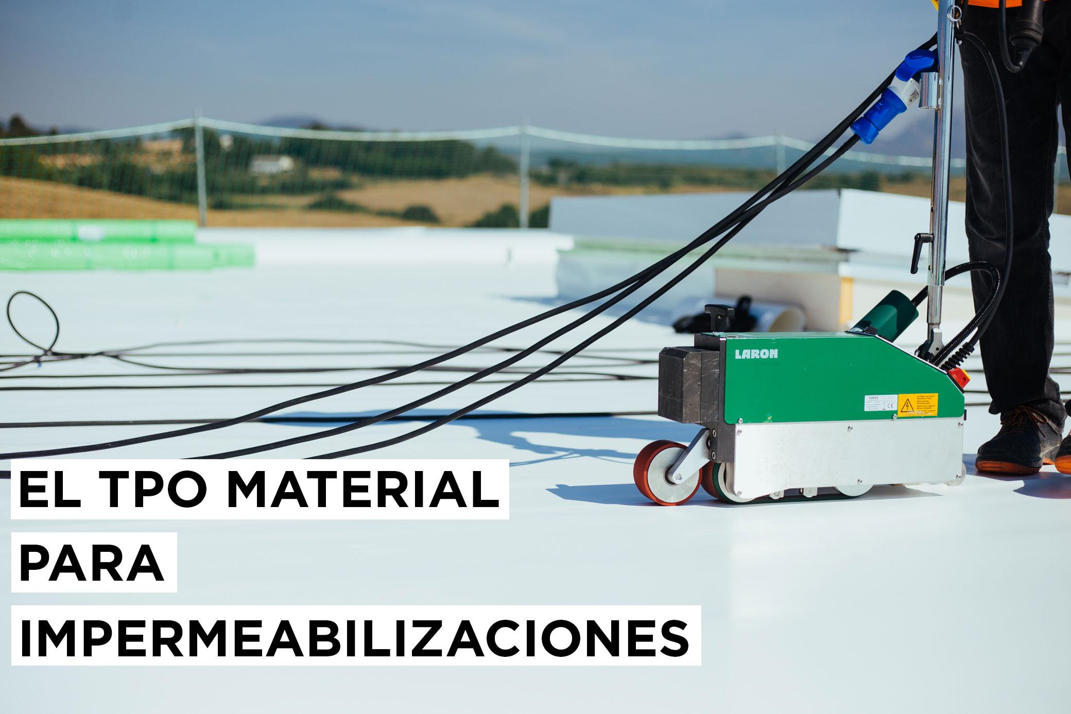 El TPO material para impermeabilizaciones 16