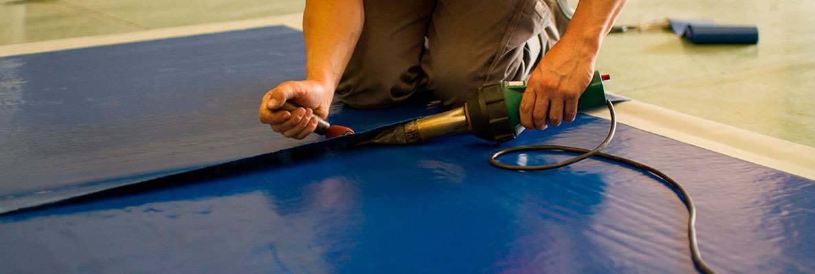 ¿Cómo reparar carpas y toldos de PVC? 2
