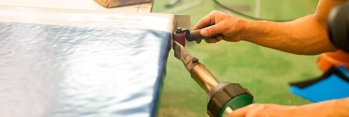 ¿Cómo reparar carpas y toldos de PVC? 3