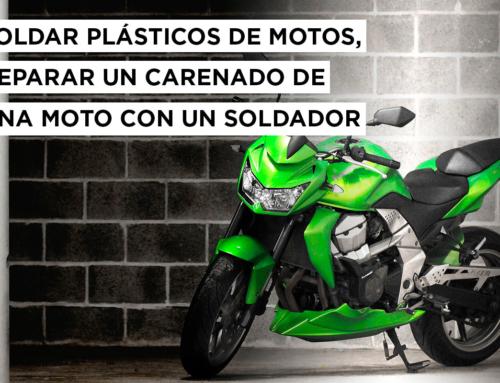 Soldar plásticos de motos: reparar el carenado de una moto con un soldador
