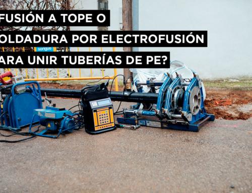 ¿Fusión a tope o soldadura por electrofusión para unir tuberías de PE?