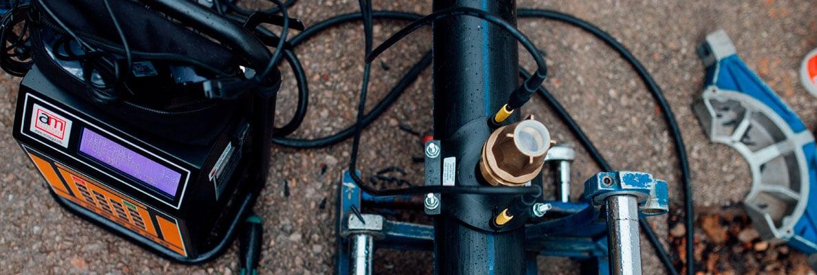 Como se hace una soldadura por Electrofusión en tubos y accesorios de PE 5