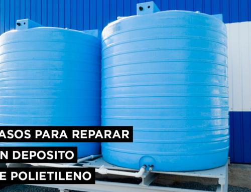 Pasos para reparar un depósito de polietileno